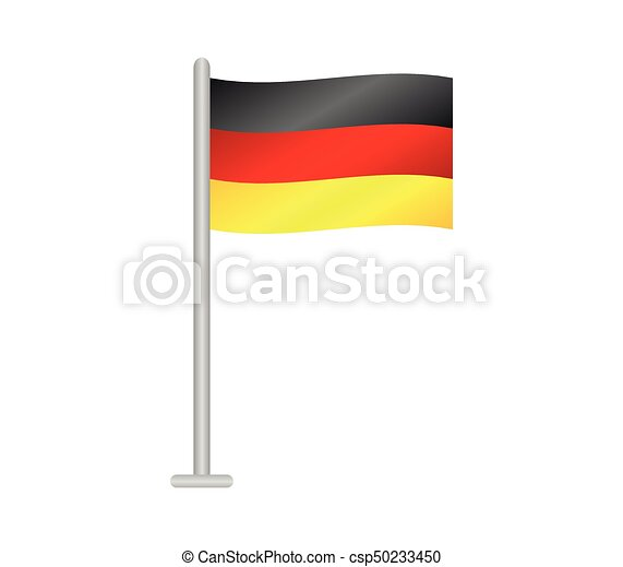 flag of Germany - csp50233450
