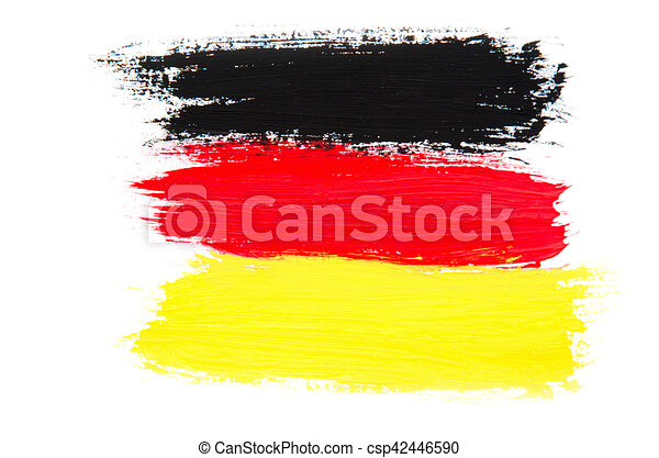 Flag of Germany - csp42446590
