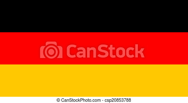 flag of Germany - csp20853788