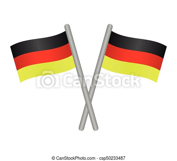 flag of Germany - csp50233487