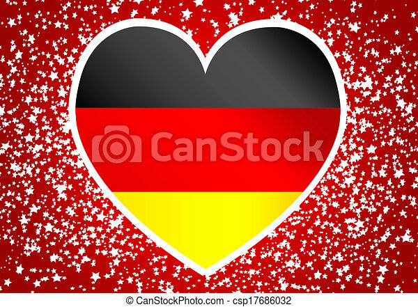 Flag of Germany - csp17686032