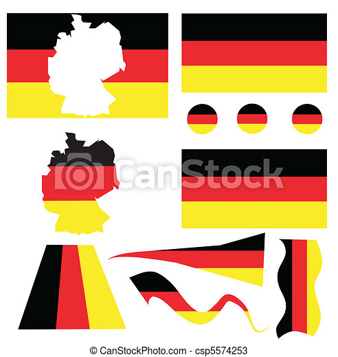 Flag of Germany - csp5574253