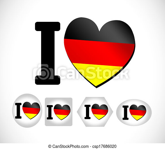 Flag of Germany - csp17686020