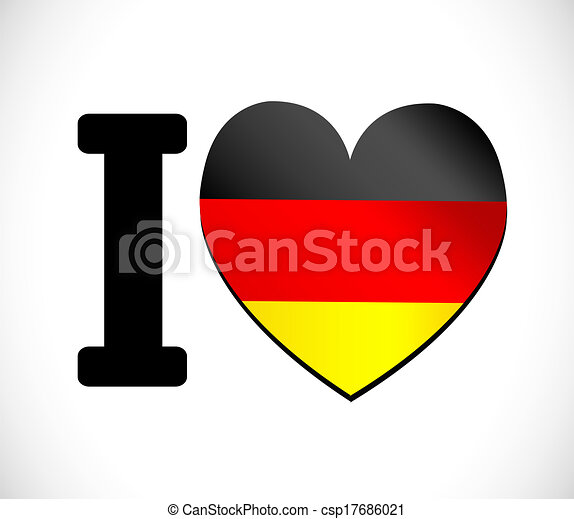 Flag of Germany - csp17686021