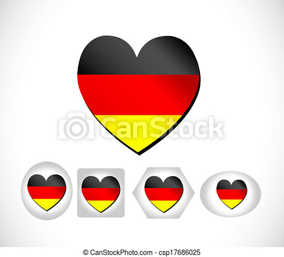 Flag of Germany - csp17686025