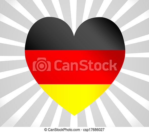 Flag of Germany - csp17686027