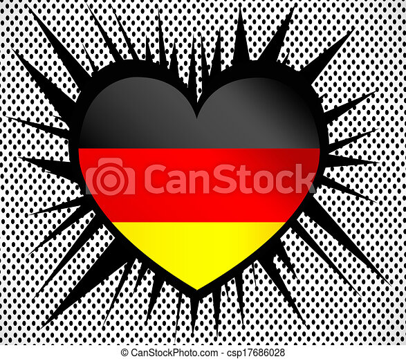 Flag of Germany - csp17686028
