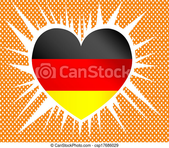 Flag of Germany - csp17686029