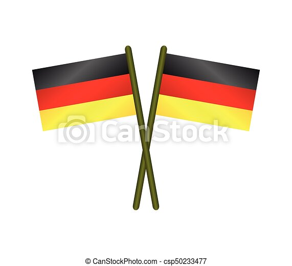 flag of Germany - csp50233477