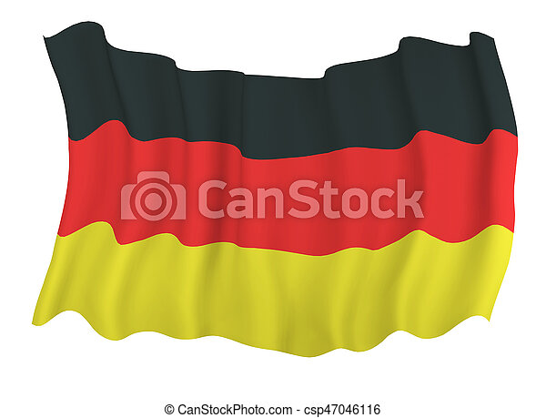 Flag of germany - csp47046116