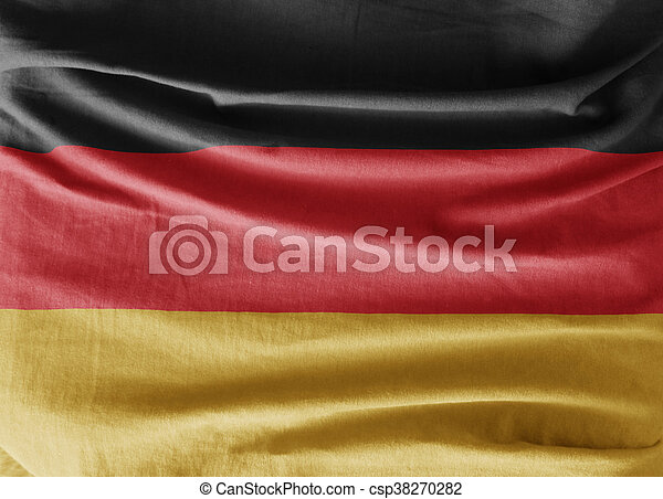 Flag of Germany - csp38270282