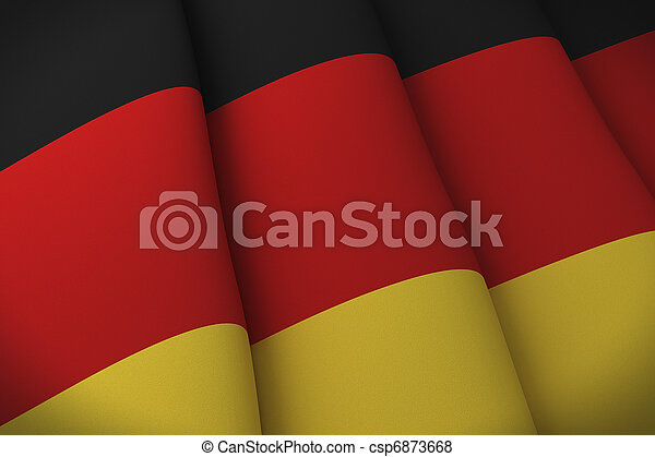 Flag of Germany - csp6873668