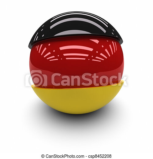 Flag of Germany - csp8452208