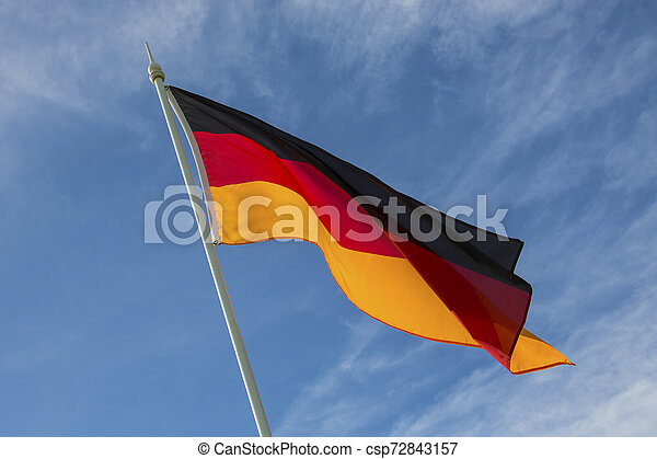 Flag of Germany - csp72843157