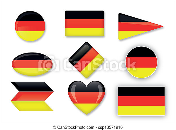 flag of Germany - csp13571916