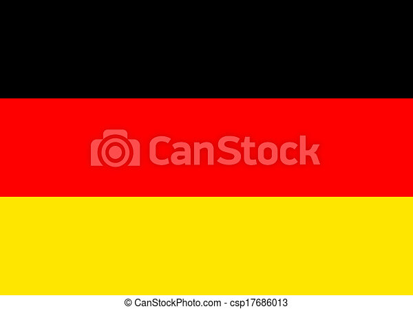 Flag of Germany - csp17686013