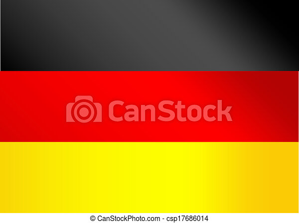 Flag of Germany - csp17686014