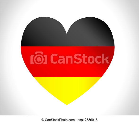 Flag of Germany - csp17686016