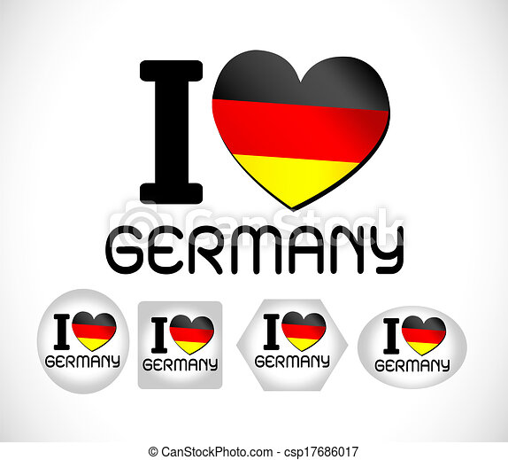 Flag of Germany - csp17686017