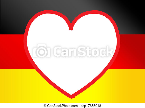 Flag of Germany - csp17686018