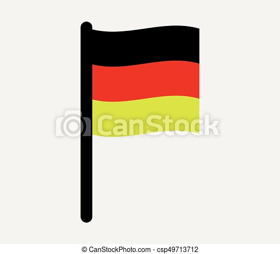 Flag of Germany - csp49713712