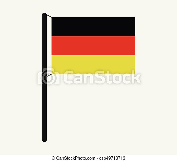 Flag of Germany - csp49713713