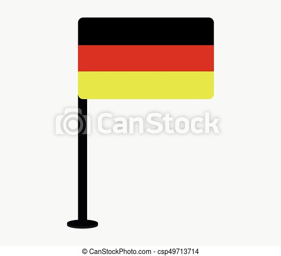 Flag of Germany - csp49713714