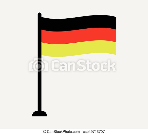 Flag of Germany - csp49713707