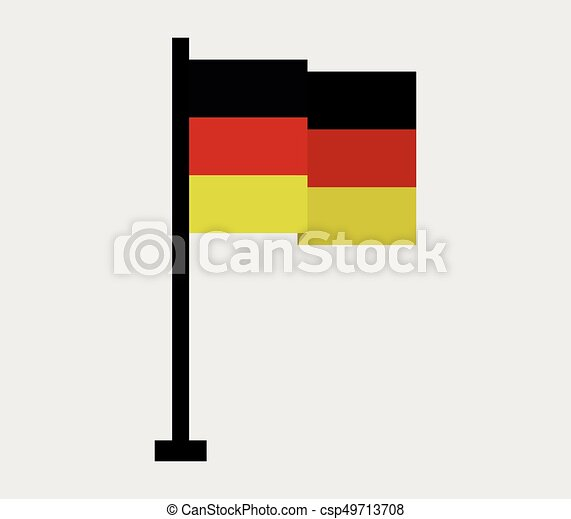 Flag of Germany - csp49713708