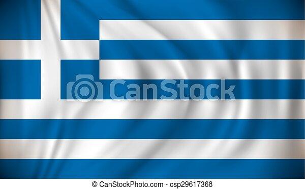 Flag of Greece - csp29617368