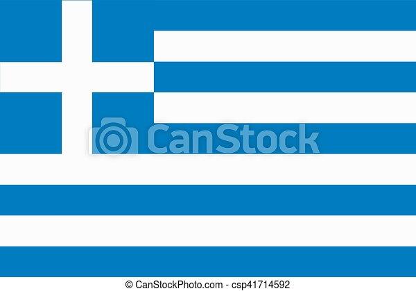Flag of Greece - csp41714592