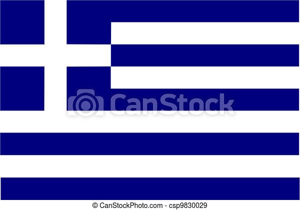 Flag of Greece - csp9830029