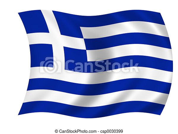 flag of greece - csp0030399