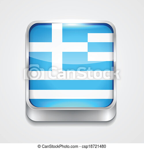 flag of greece - csp18721480