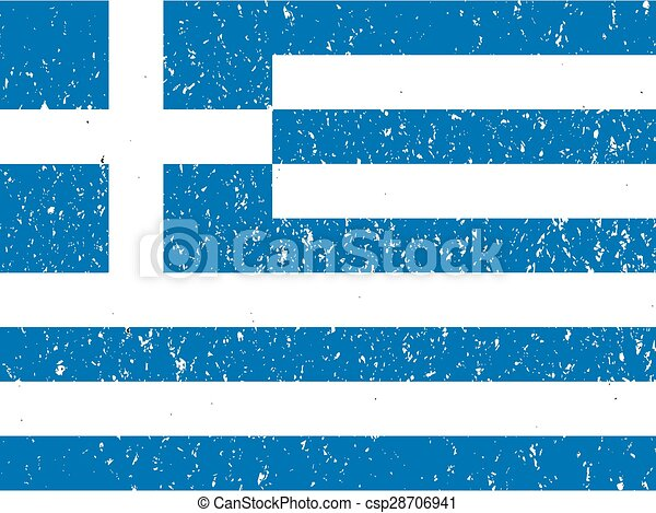 flag of Greece - csp28706941