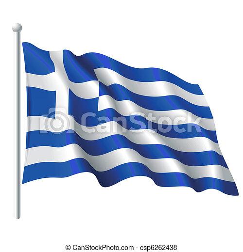 Flag of Greece - csp6262438