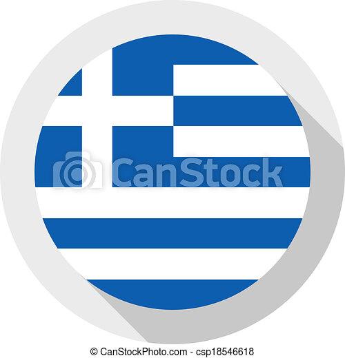Flag of Greece - csp18546618