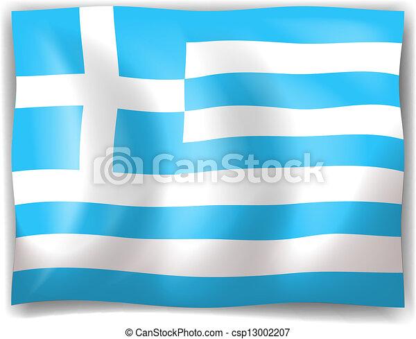 Flag of Greece - csp13002207