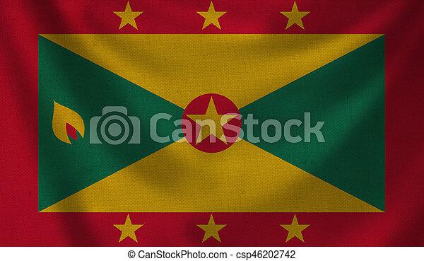Flag of Grenada. - csp46202742