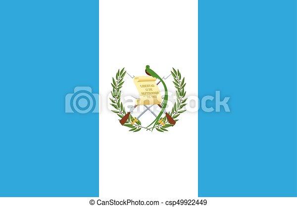 Flag of Guatemala - csp49922449