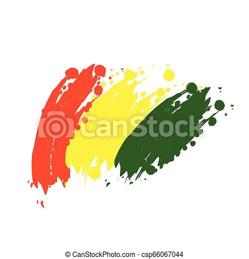 flag of Guinea - csp66067044