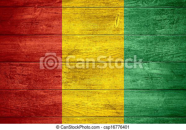 flag of Guinea - csp16776401