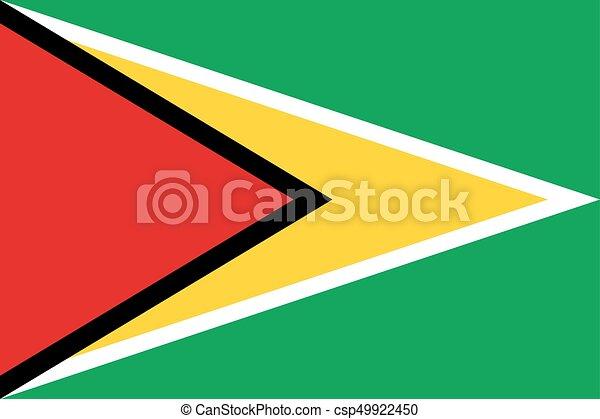 Flag of Guyana - csp49922450