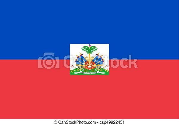 Flag of Haiti - csp49922451