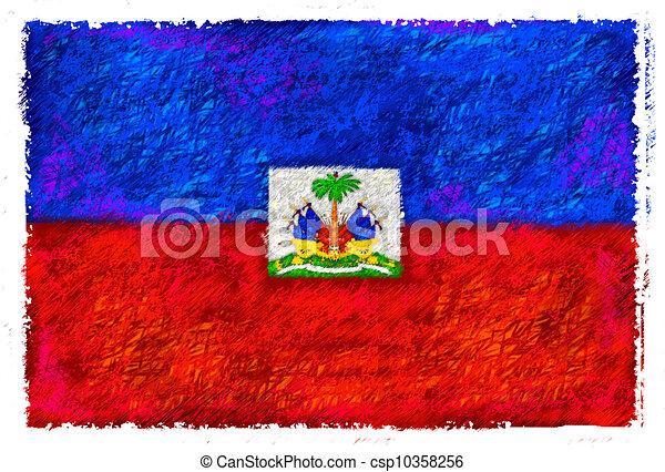 Flag of Haiti - csp10358256