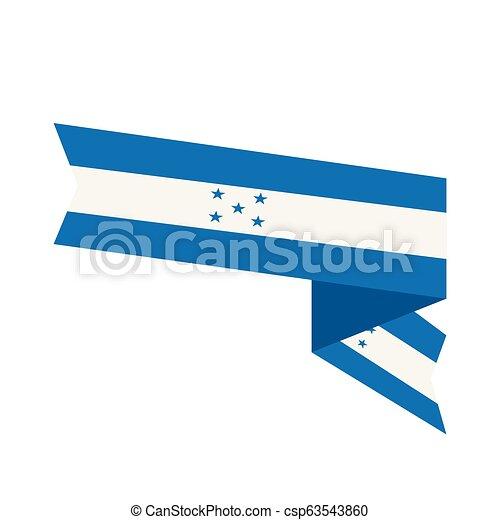 Flag of Honduras - csp63543860