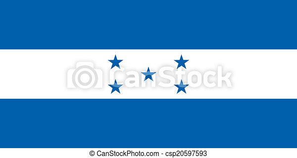 Flag of Honduras - csp20597593