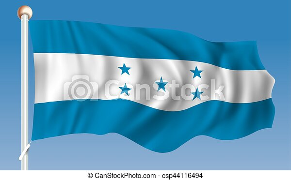 Flag of Honduras - csp44116494