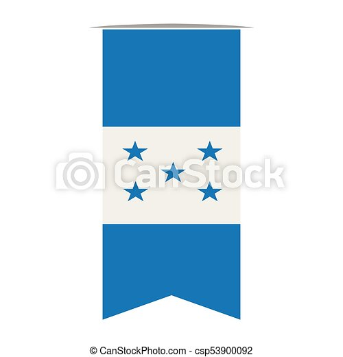 Flag of Honduras - csp53900092