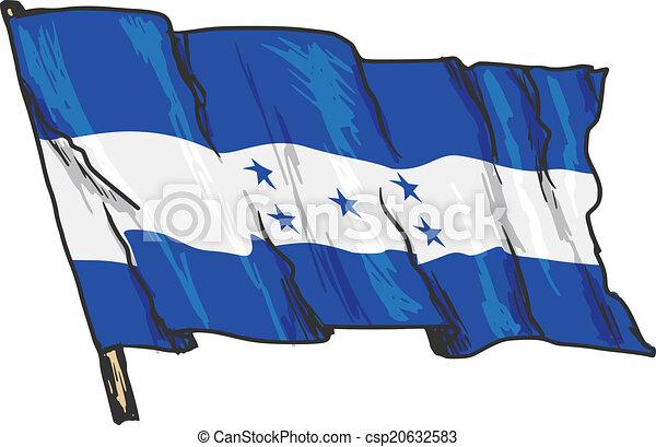 flag of Honduras - csp20632583